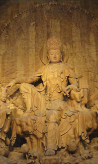 Pèlerinage Chine Bouddhiste Amitabha