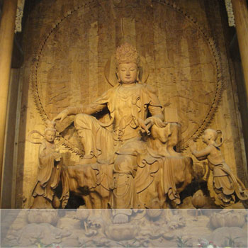 Pèlerinage Bouddhiste Chine Quatre Monts Amitabha